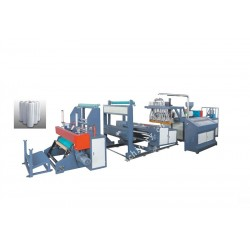 double-layer stretch film making machine (casting film extruder)