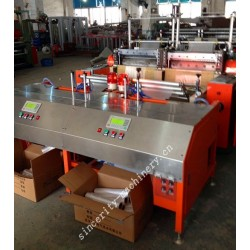 High speed auto feeding roller bag making machine