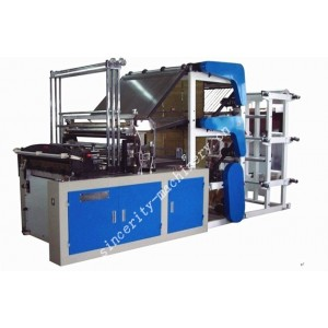 9 Lines Bottom Sealing Plastic Bag Making Machine