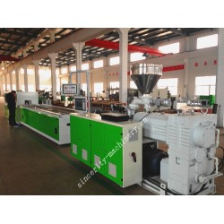 PE WPC profile extrusion machine