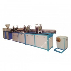 PVC heat shrink tube film flat blowing machine